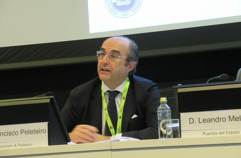 Ponencia de Francisco Peleteiro en el Congreso Nacional Sobre Derecho Marítimo 2019