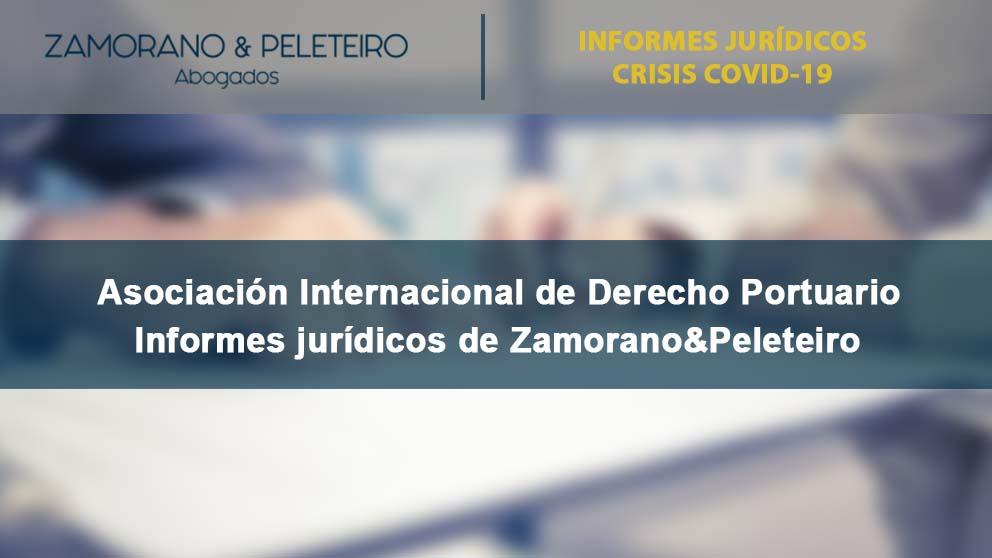 COVID-19 Informes jurídicos de Zamorano&Peleteiro