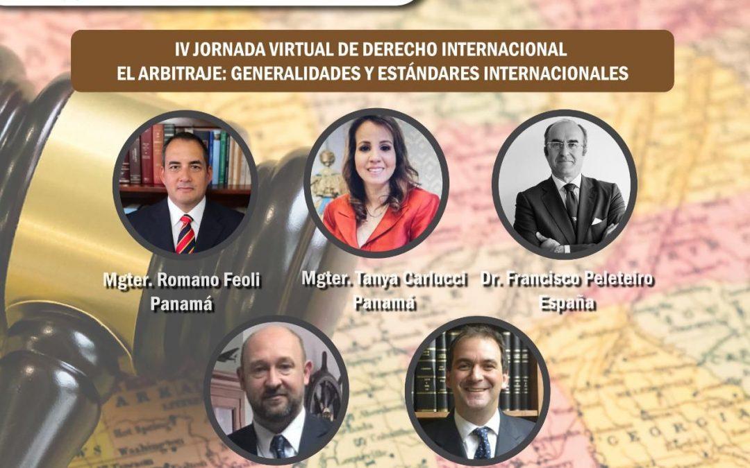 FRANCISCO PELETEIRO, PARTICIPA EN EL SEMINARIO DE LA UNIVERSIDAD METROPOLIANA DE PANAMÁ SOBRE ARBITRAJE INTERNACIONAL